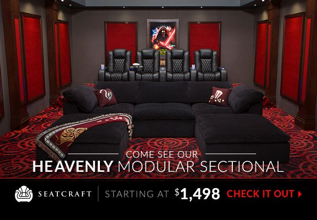 Home Theater Seating, Home Theater Furniture, Movie Theater Seats, And Home  Theater Decor