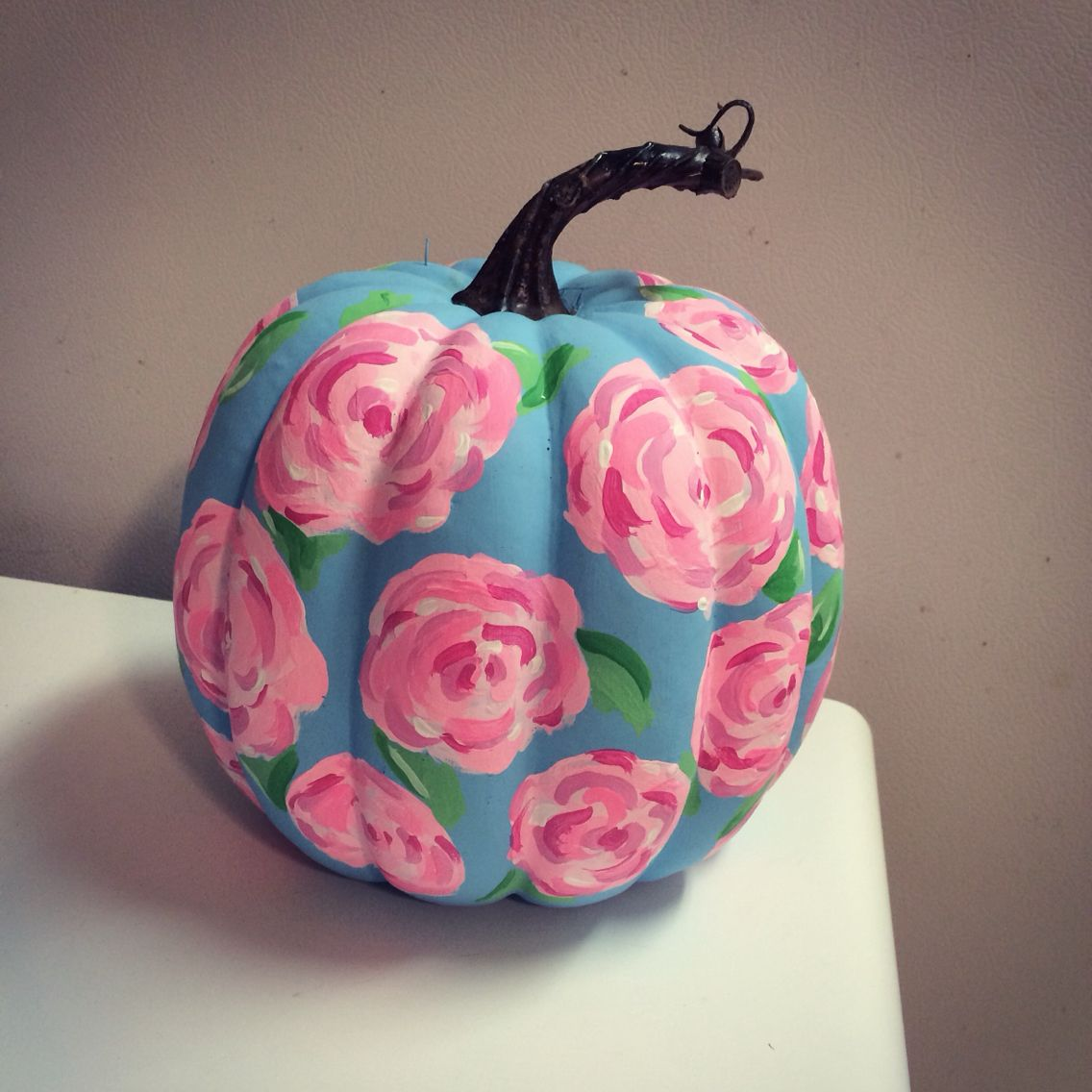 My Lilly Pulitzer First Impression Painted Pumpkin I Bought A