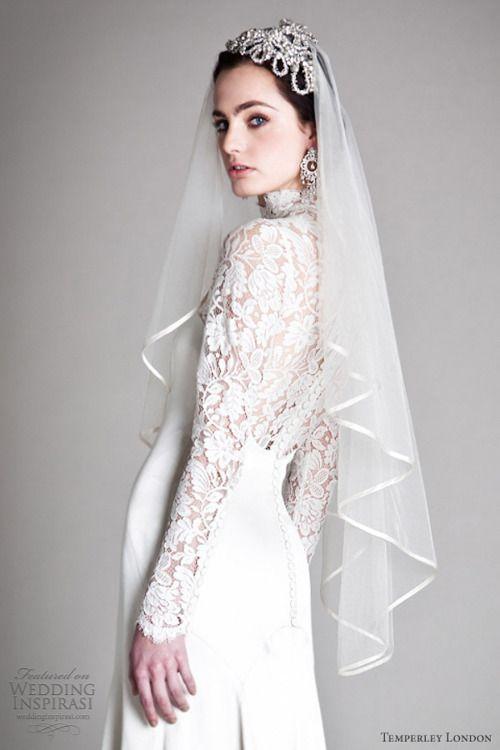 whitedream:  By Temperley London Followmy tumblrfor more beautiful wedding dresses (: