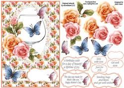 Butterflies And Blooms All Occasion