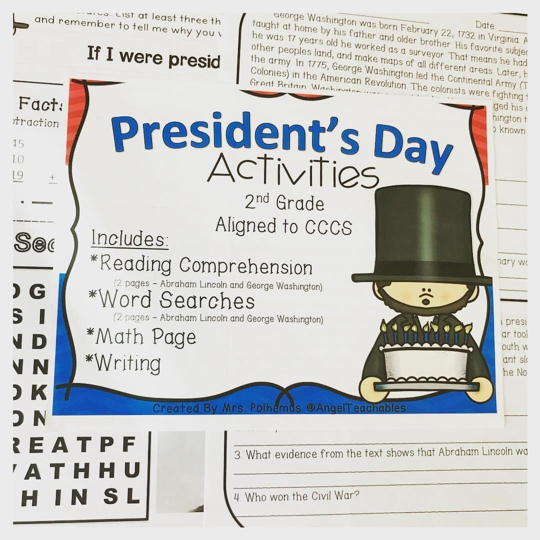 President S Day Reading Worksheet