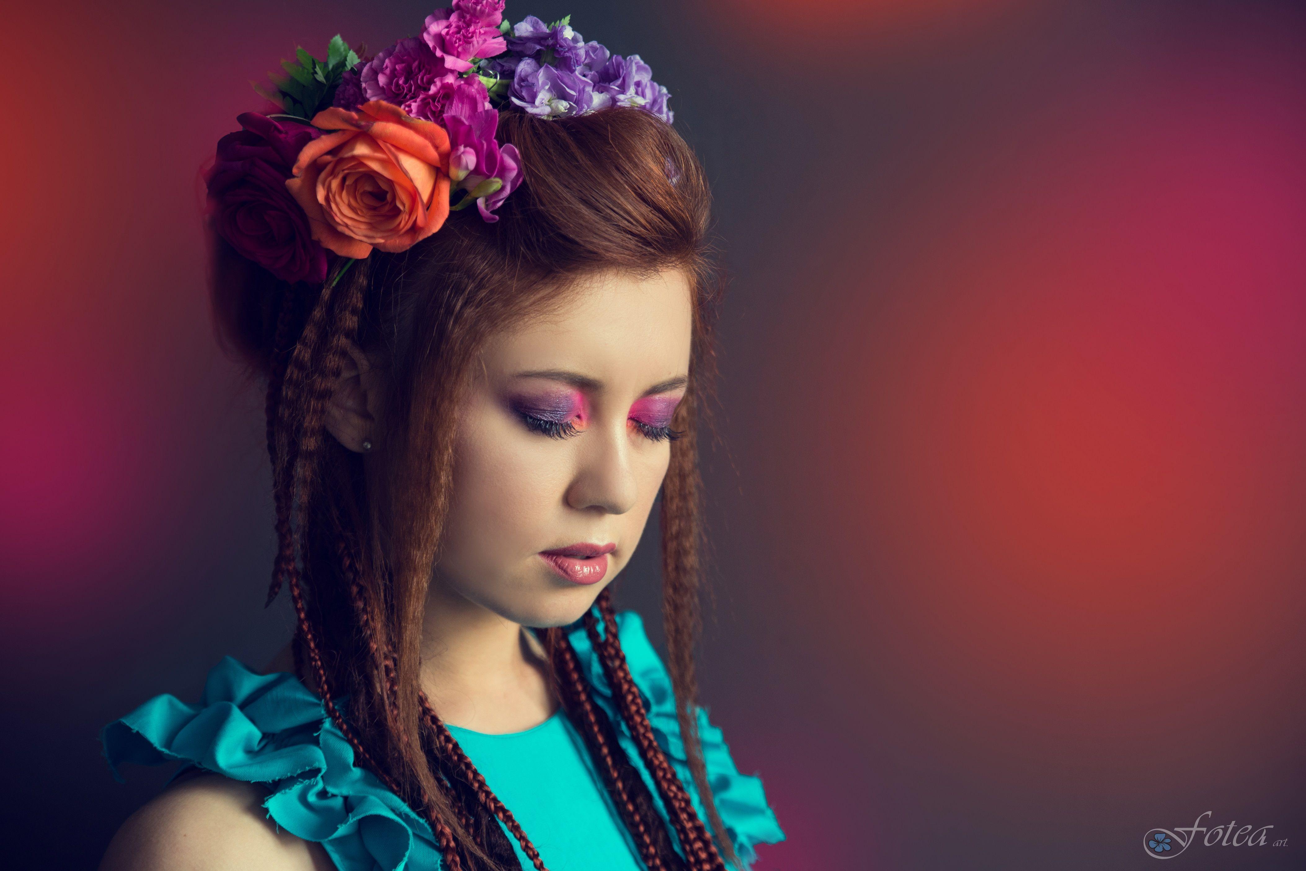 Modelka Emilia Dołęgowska Stylizacja Gabrieli Hezner Make Up Anna