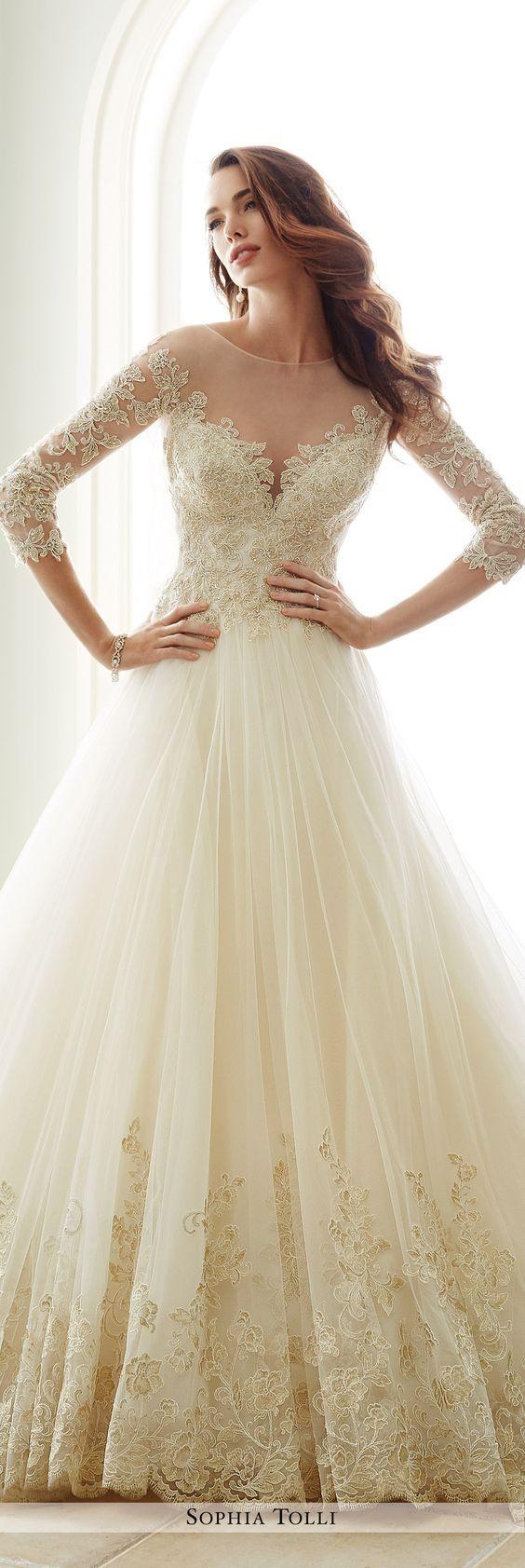 Y andria sophia tolli wedding dress the big day