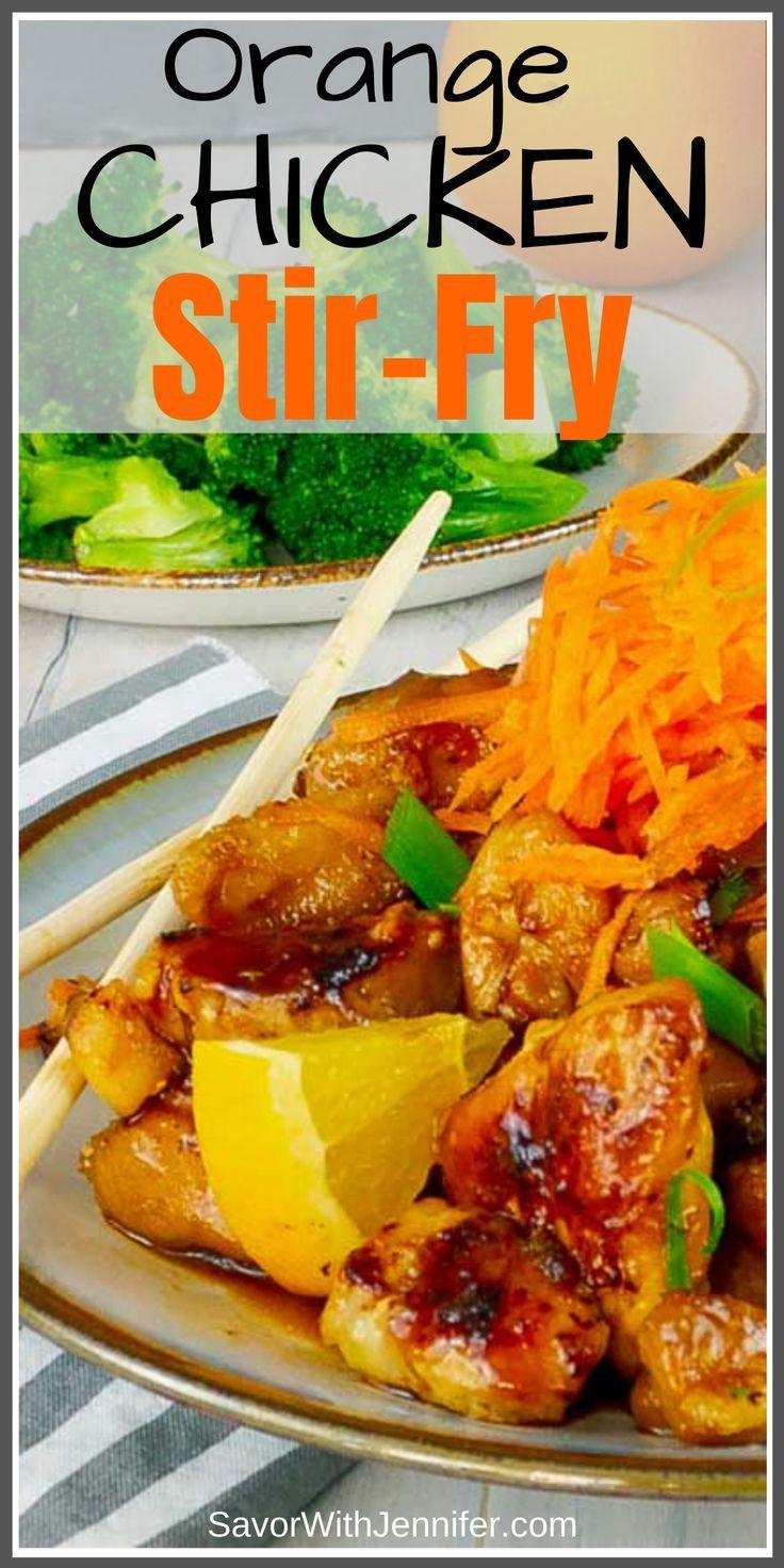 Sticky Orange Chicken Recipe