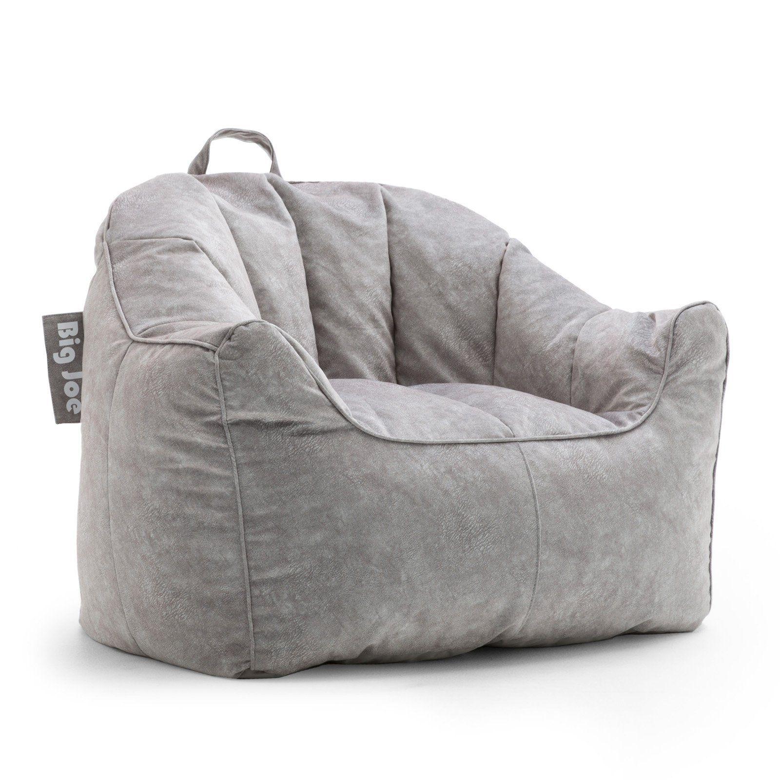 Reading Corner Discover Big Joe Hug Bean Bag Chair Lunar Gray Dimensions 34l X 28w X 28h In Pea Sized Recycl In 2020 Bean Bag Chair Comfy Chairs Bean Bag Chair Kids