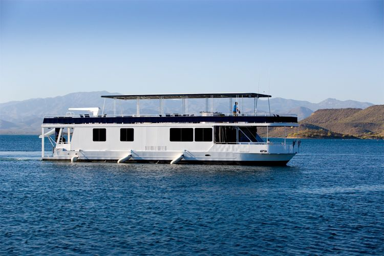 Lake pleasant boat rental out of the blue houseboat