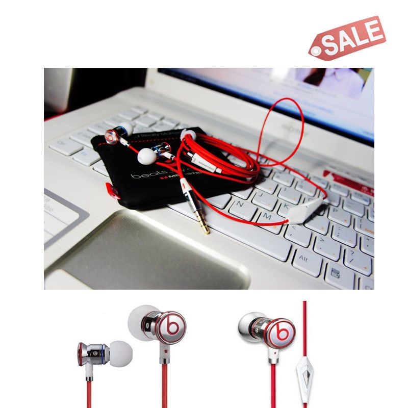 8b5893b977f New Monster Beats By Dr Dre iBeats 3.5mm in-Ear Earphones for iPhone iPod  -White (eBay Link)