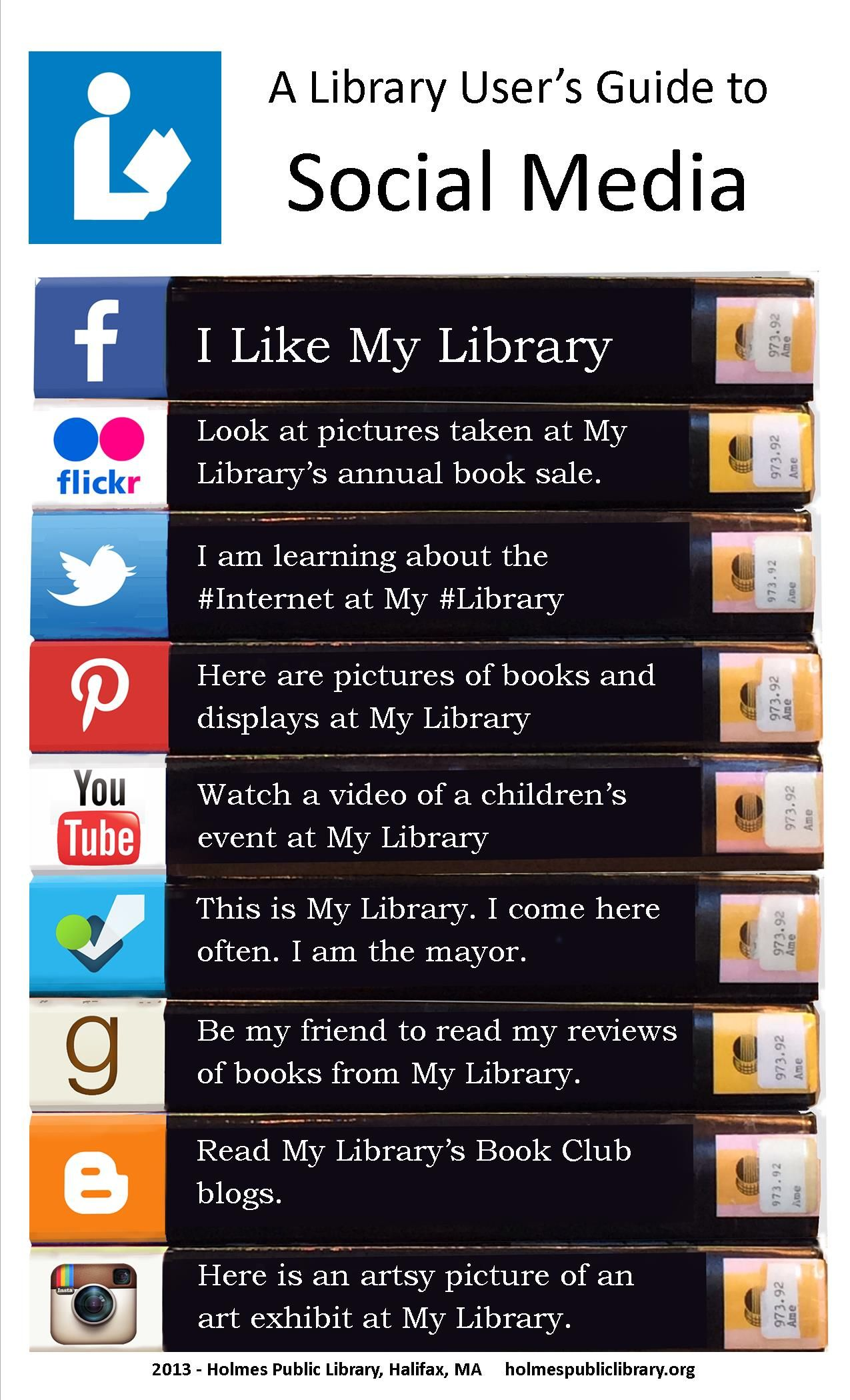 A library user s guide to social media holmes public library