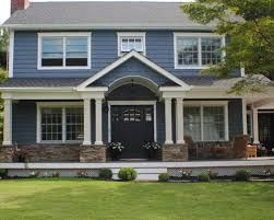 Blue Colonial House Google Search House Siding Blue Siding House Exterior