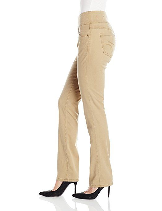 2d3de4f15666 Jag Jeans Women's Jeans Peri Pull-On Straight Leg Pant in Bay Twill at Amazon  Women's Jeans store
