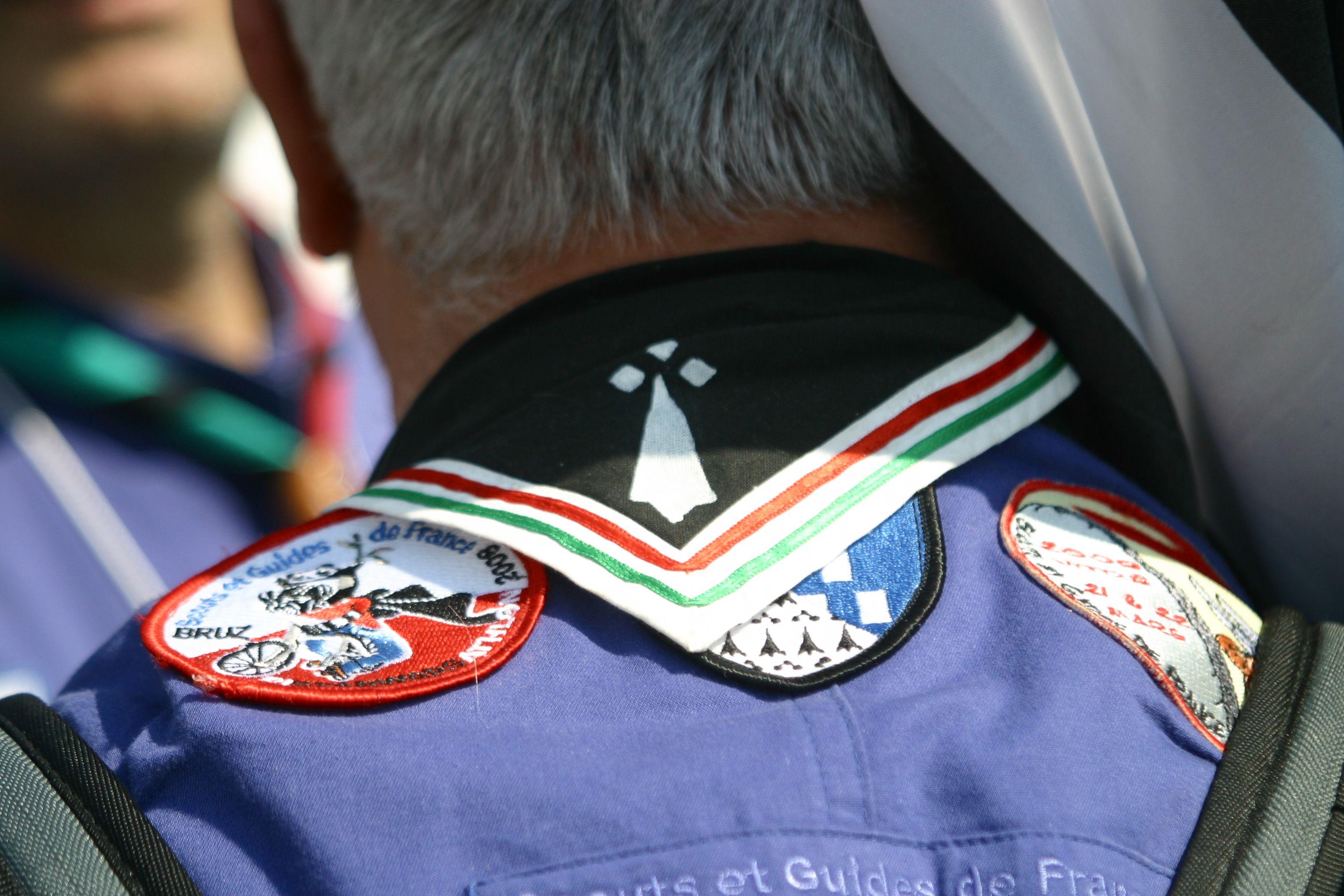 Rencontres Nationales des Scouts et Guides de France, | Scout, Foulard