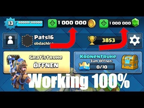 Clash Royale Hack How To Get Free Gems And Coins In Clash Royale