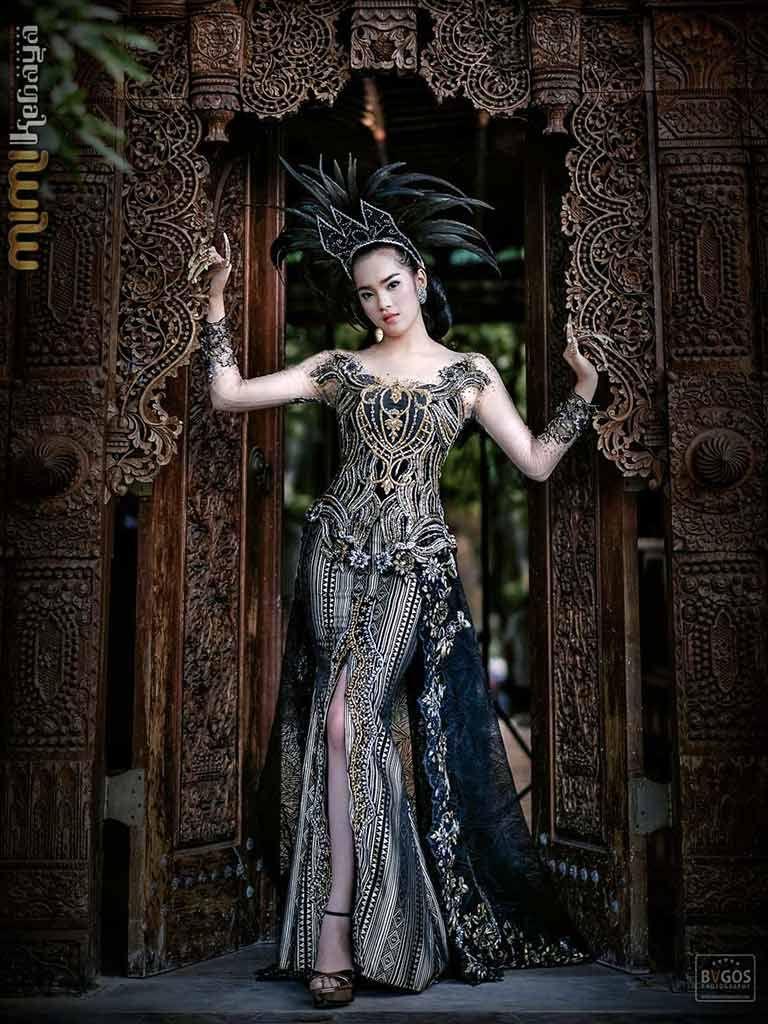 gaun-pengantin-kebaya-modern-glamour  Gaun pengantin, Gaun, Renda