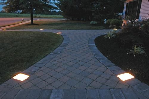 Kerr Lighting Millennium 10 Pack Low Voltage Paver Lights