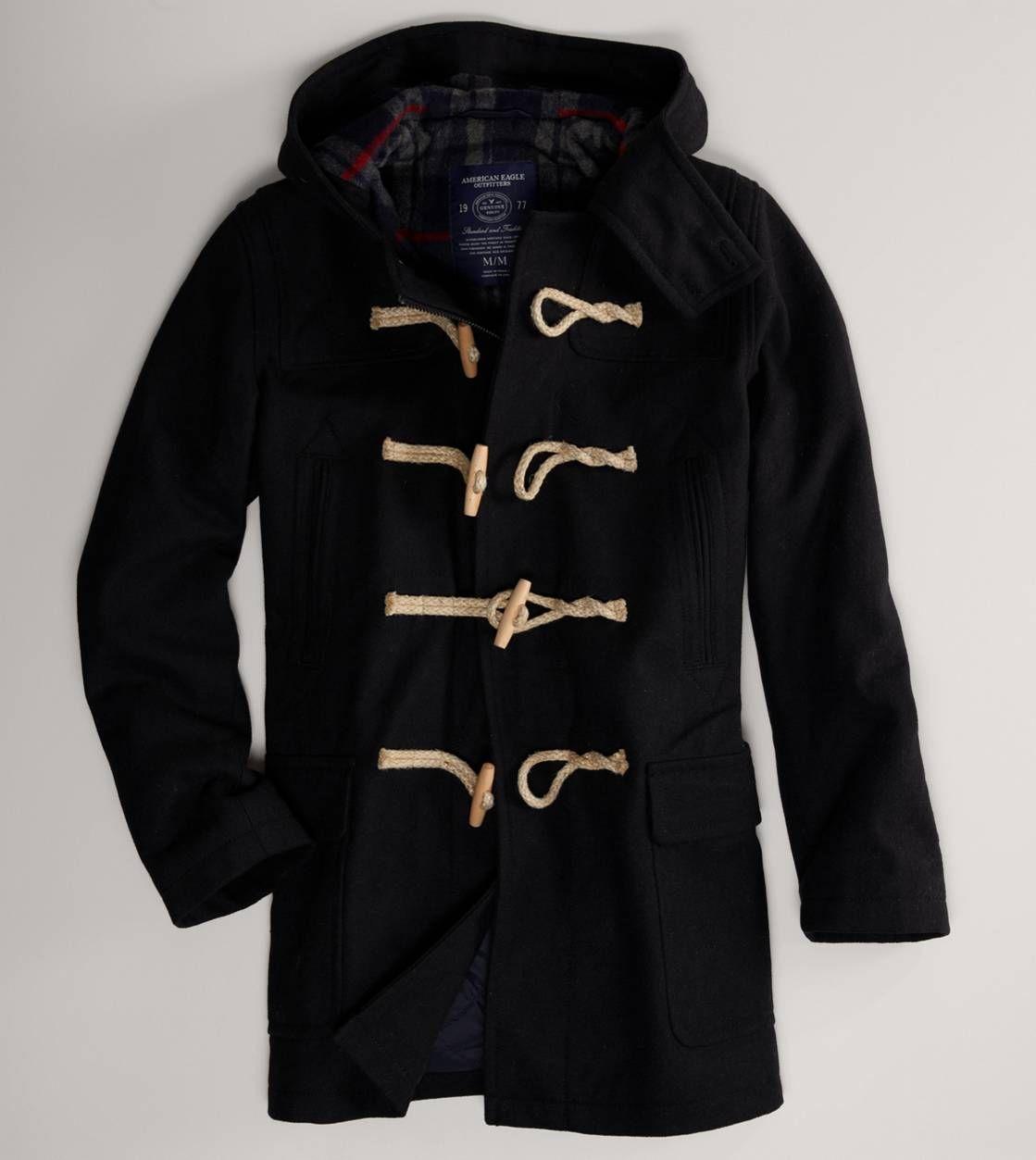 AE Active Full-Zip Windbreaker | Duffle coat