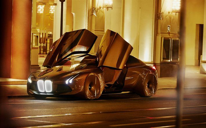 Bmw Vision Next 100 Future Cars New Cars Gold Bmw Bmw With