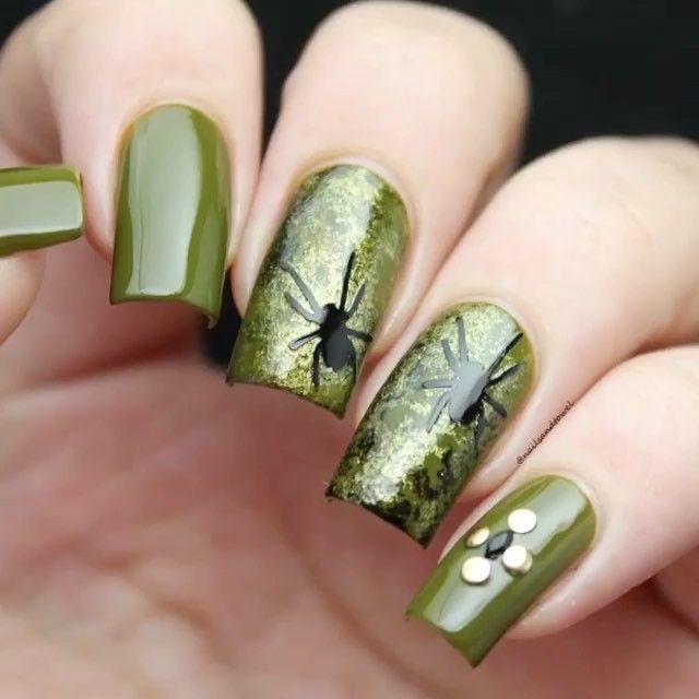 Pin by Barbara Scholz on Halloween | Halloween nails ...