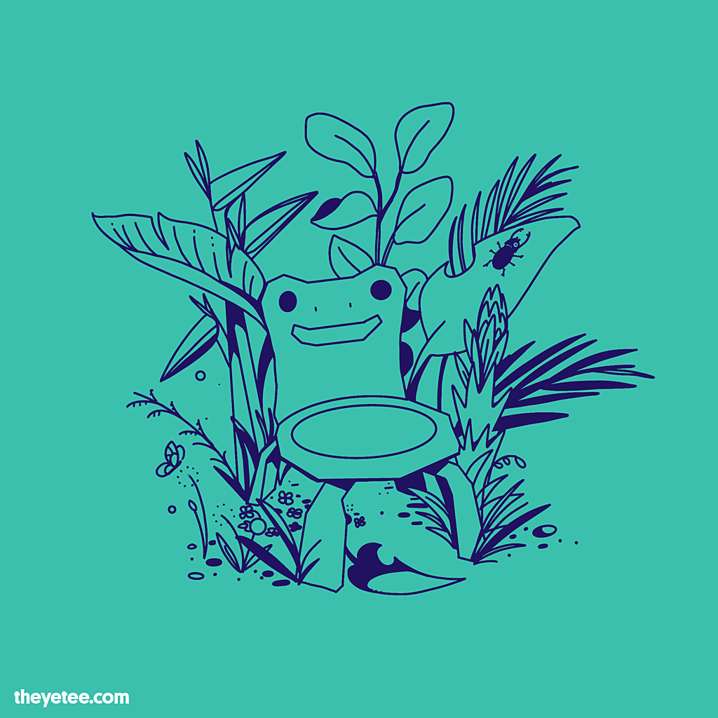 Froggy Chair from The Yetee in 2020 Froggy, Day of the