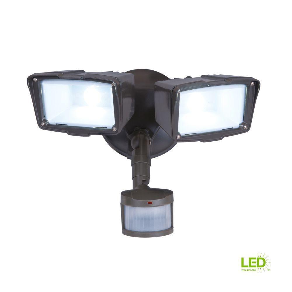 Defiant LED Motion Sensor Security Light 180 Degree Outdoor Flood Lights 4