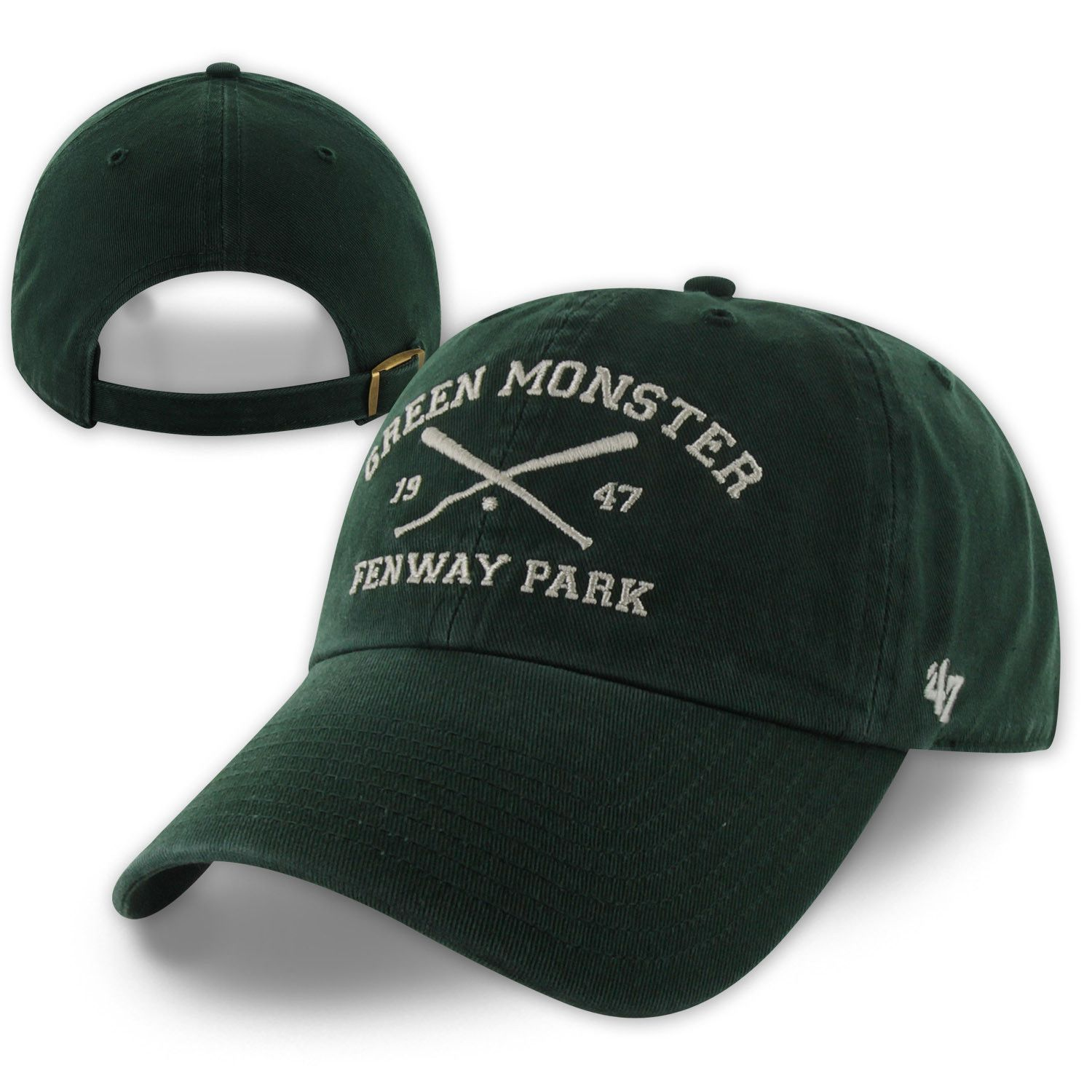 574c45b8e5f 47 Clean-Up - Crossed Bats - Green Monster