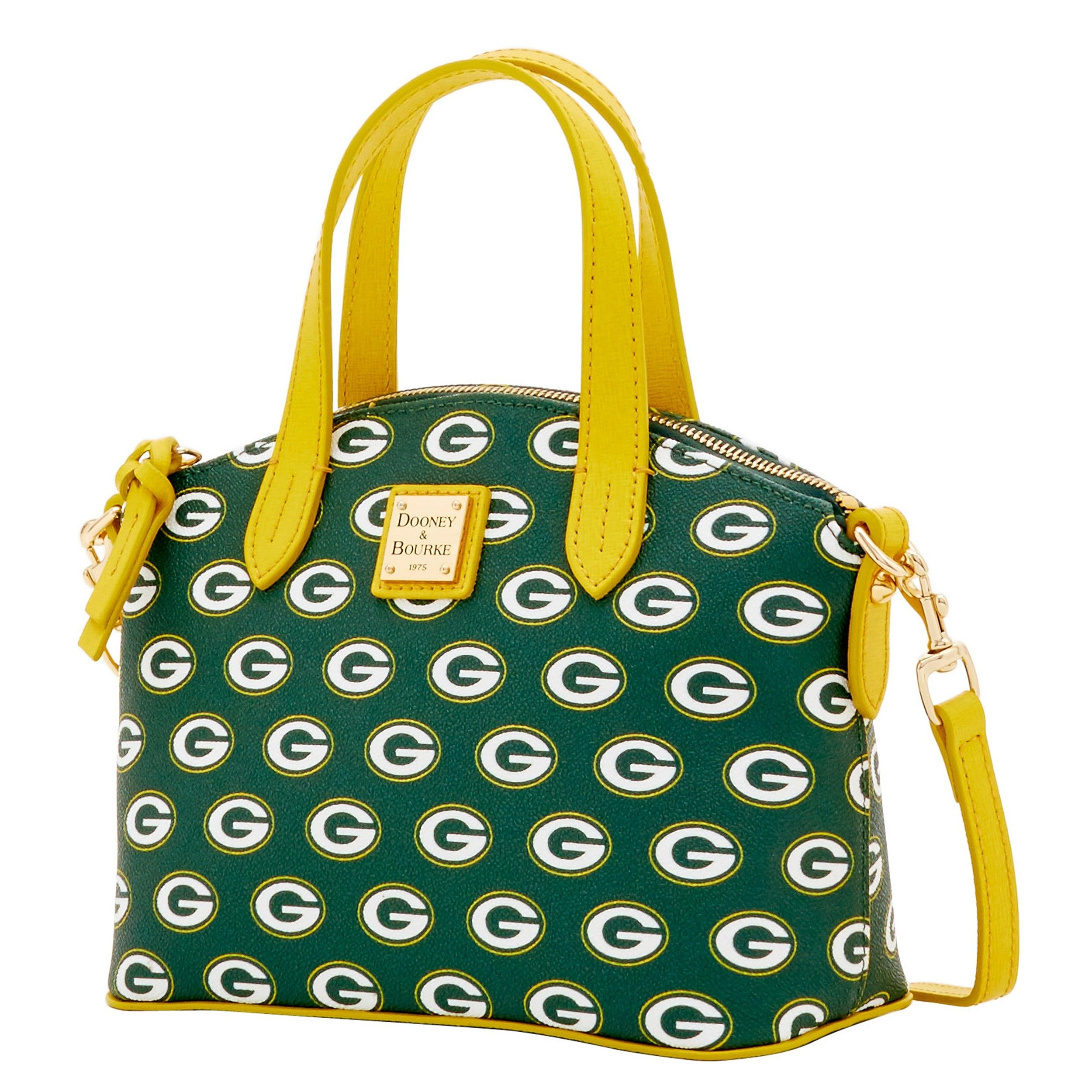 Dooney & Bourke NFL Signature Ruby Bag (Green/Yellow/Packers) Bags Z8Vymfln