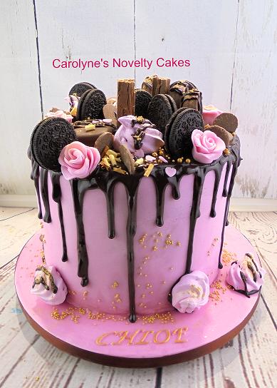 Chocokate Drip Cake Carolyne S Novelty Cakes In 2019