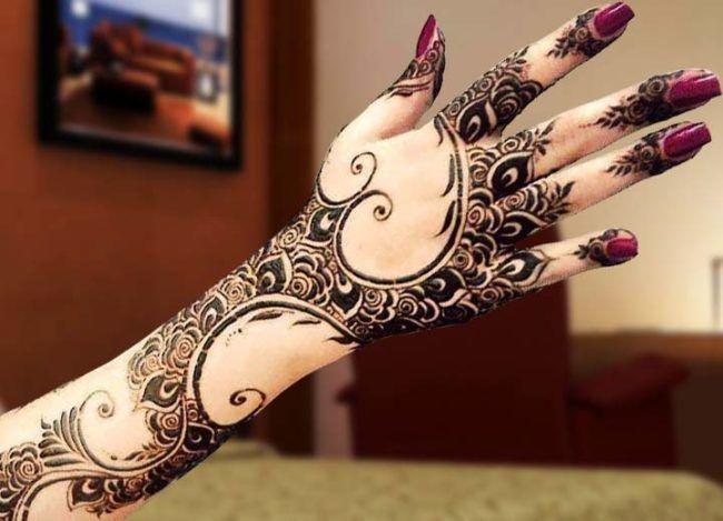 Mehndi Designs 2017 New Style : Pakistani beautiful mehndi designs 2017 new style images wedding