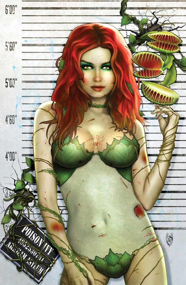 The sexiest poison ivy s pussy