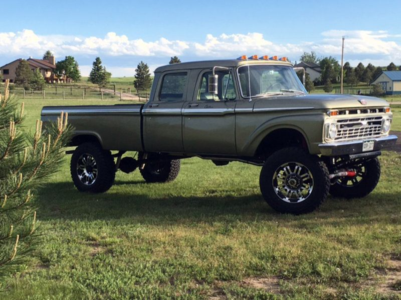 1966 ford f 350 crew cab 4x4 motor sounds good pinterest 4x4 ford and ford 4x4. Black Bedroom Furniture Sets. Home Design Ideas