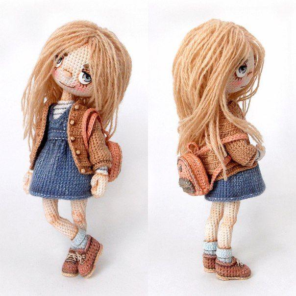 Made by Mint Bunny | creaciones | Pinterest | Muñecas, Ganchillo y ...