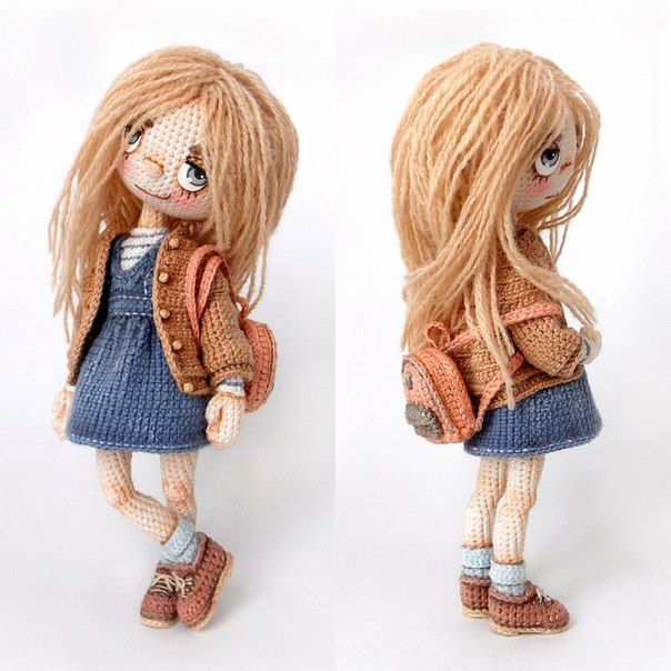 Made by Mint Bunny | куклы | Pinterest | Muñecas, Ganchillo y ...