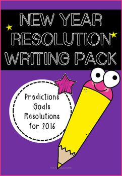 New Year Resolutions Writing Pack