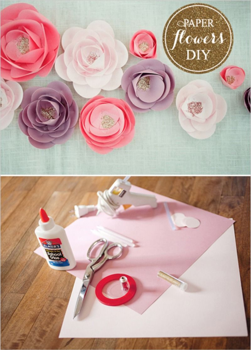 Top 10 Most Popular Diys D Iy To Try Pinterest Flower Wall