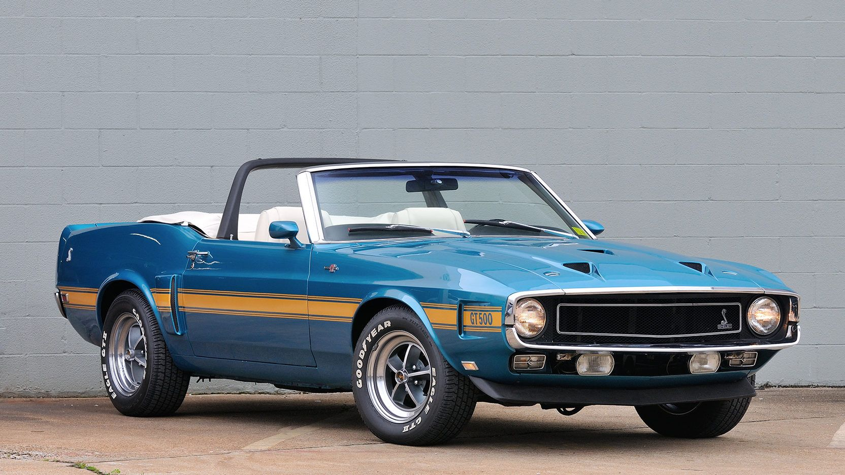 1969 Shelby Gt500 Convertible Presented As Lot F97 At Houston Tx