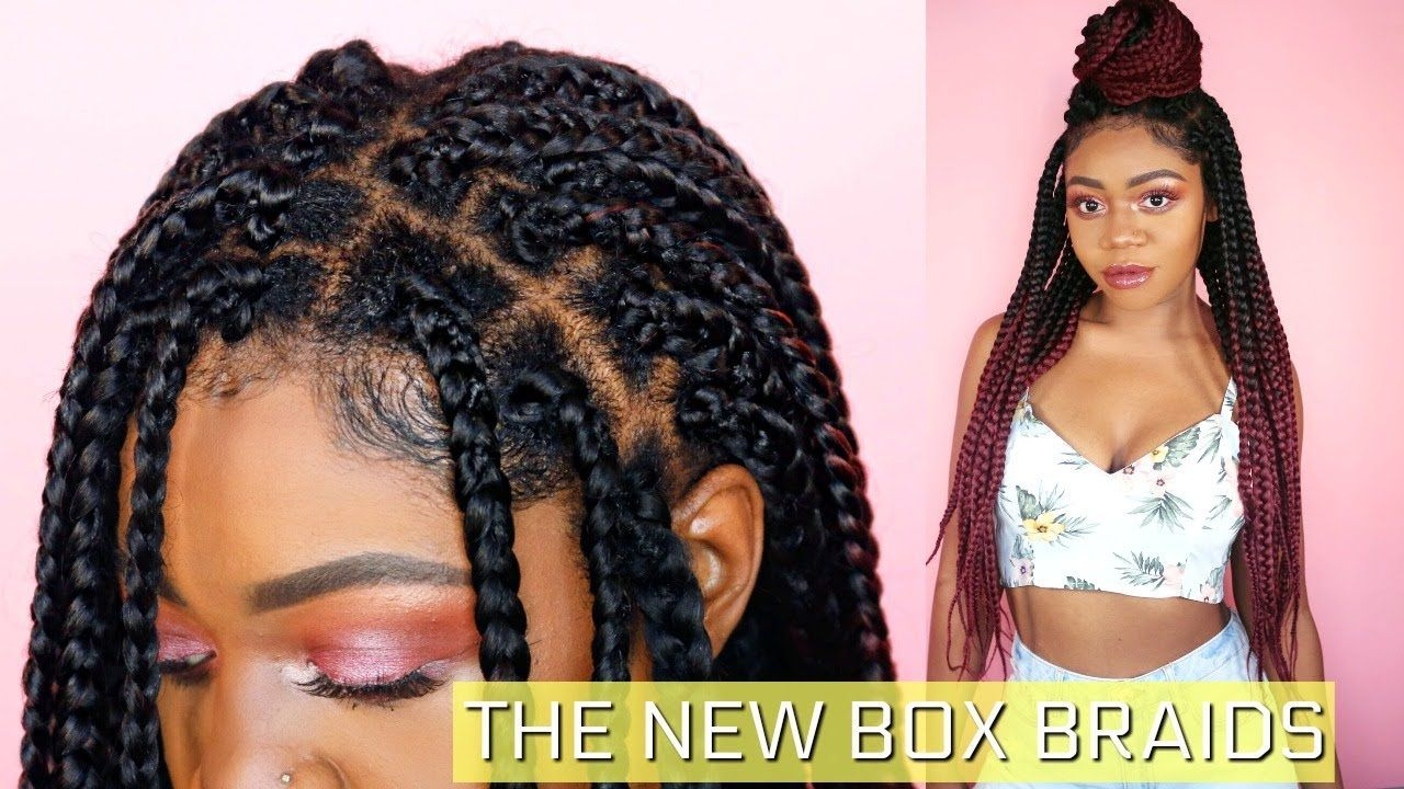 How To Individual Crochet Box Braids Step By Step Improved