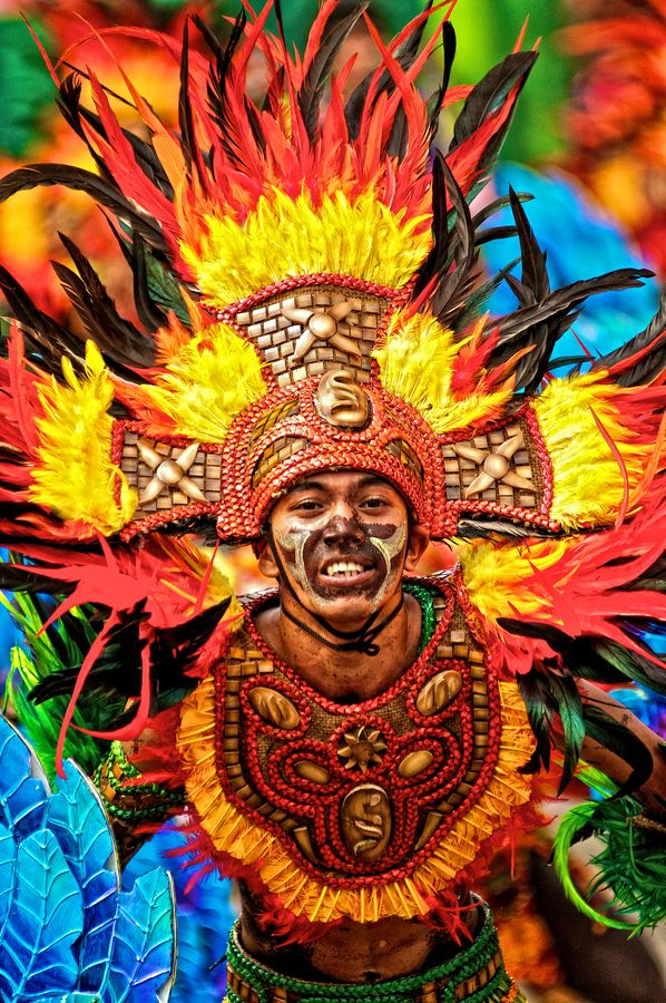 Philippines The Dinagyang Festival is celebrated every