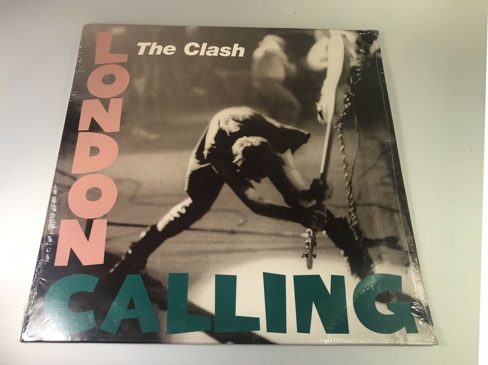 The Clash London Calling Collectors 2004 Lp New Ebay