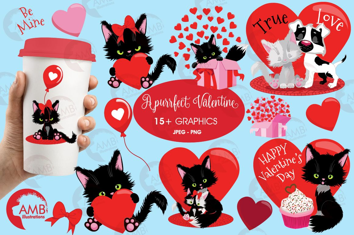 Pin By Home Design On Clip Art Collection Valentine Clipart Cat Clipart Clip Art