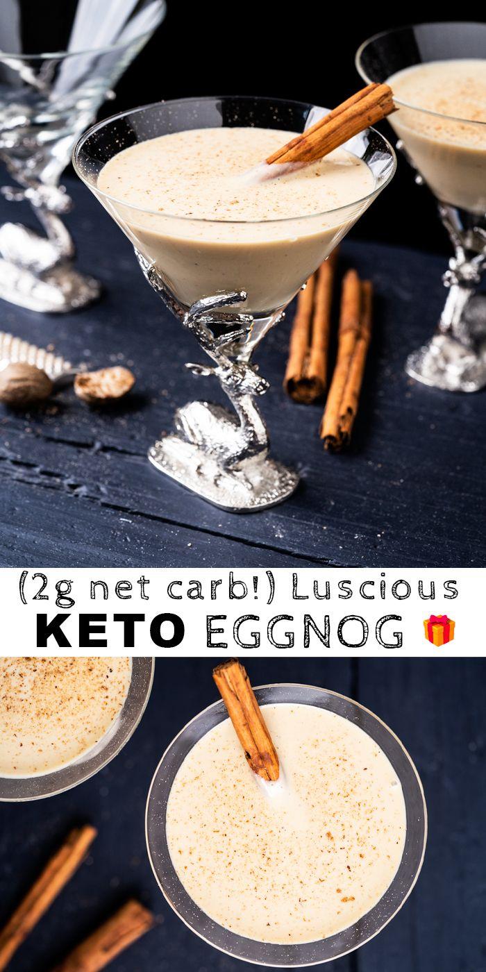 Homemade Paleo  Keto Eggnog
