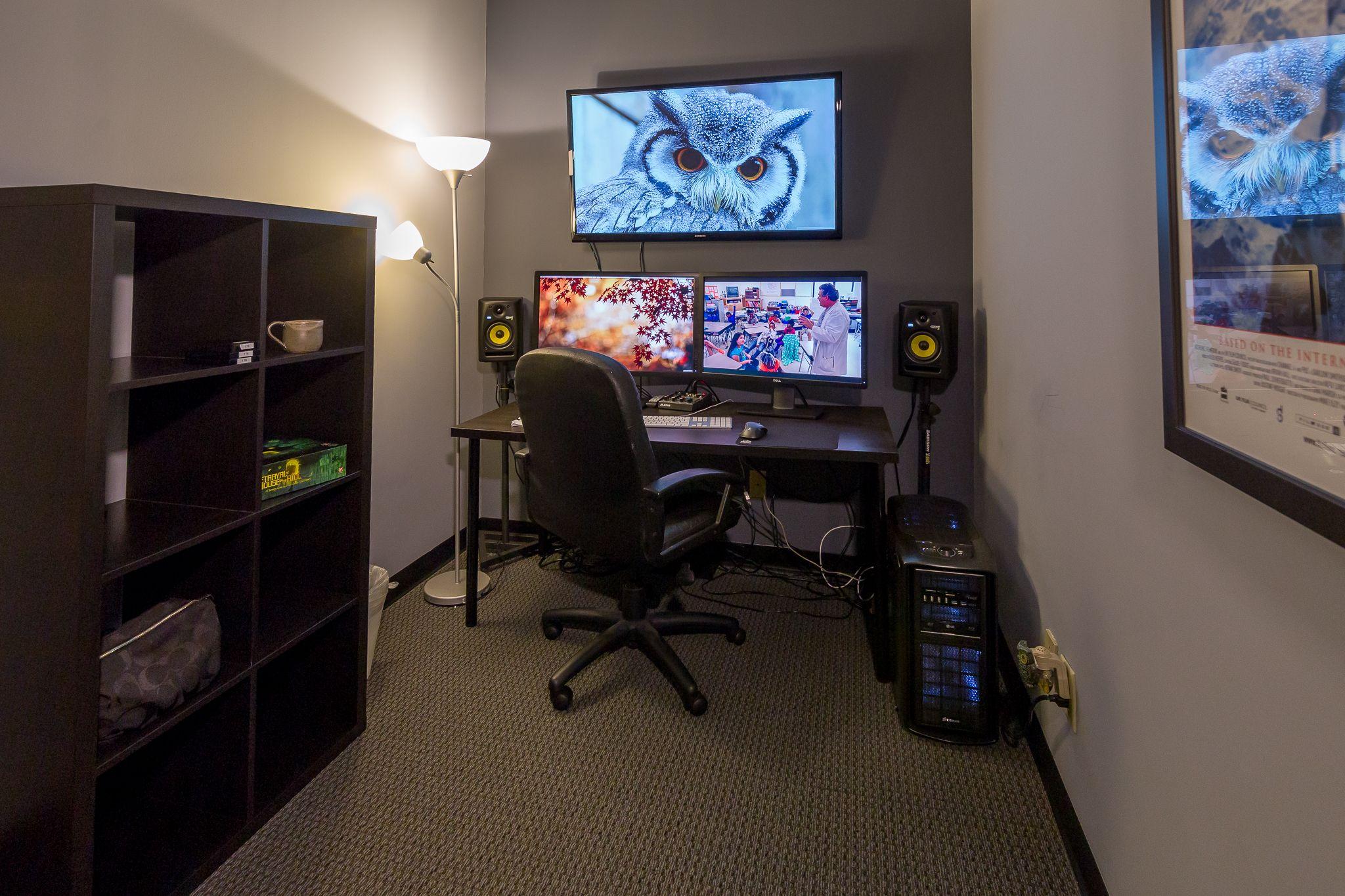 Jenn's office ecgprod | Editing Suite | Pinterest | Video ...