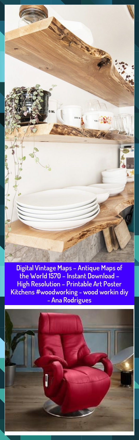 Digital Vintage Maps – Antique Maps of the World 1570 – Instant Download – High Resolution – Printable Art Poster Kitchens #woodworking - wood workin diy - Ana Rodrigues #ana #Antique #Art #Digital #DIY #Download #High #Instant #Kitchens #maps #Poster #Printable #Resolution #Rodrigues #Vintage #wood #woodworking #workin #World