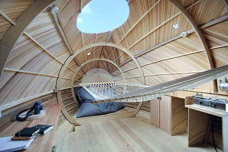 Exbury Egg, Engagement Programme | Tiny Houses, cabins and other ...