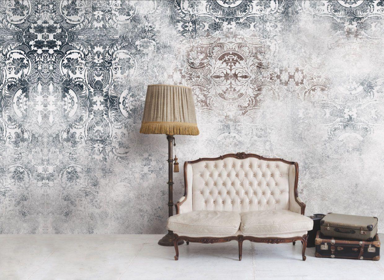 Carta da parati effetto vintage casa wall wallpaper for Carta da parati effetto muro