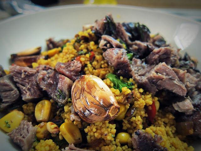 Moroccan Lamb and Couscous