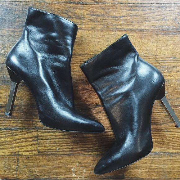 Michael Kors Ankle Boots Michael Kors black leather ankle