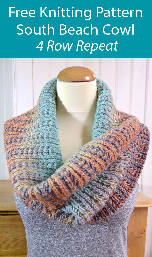 Digital Pattern Download Trout Stream Knit Cowl