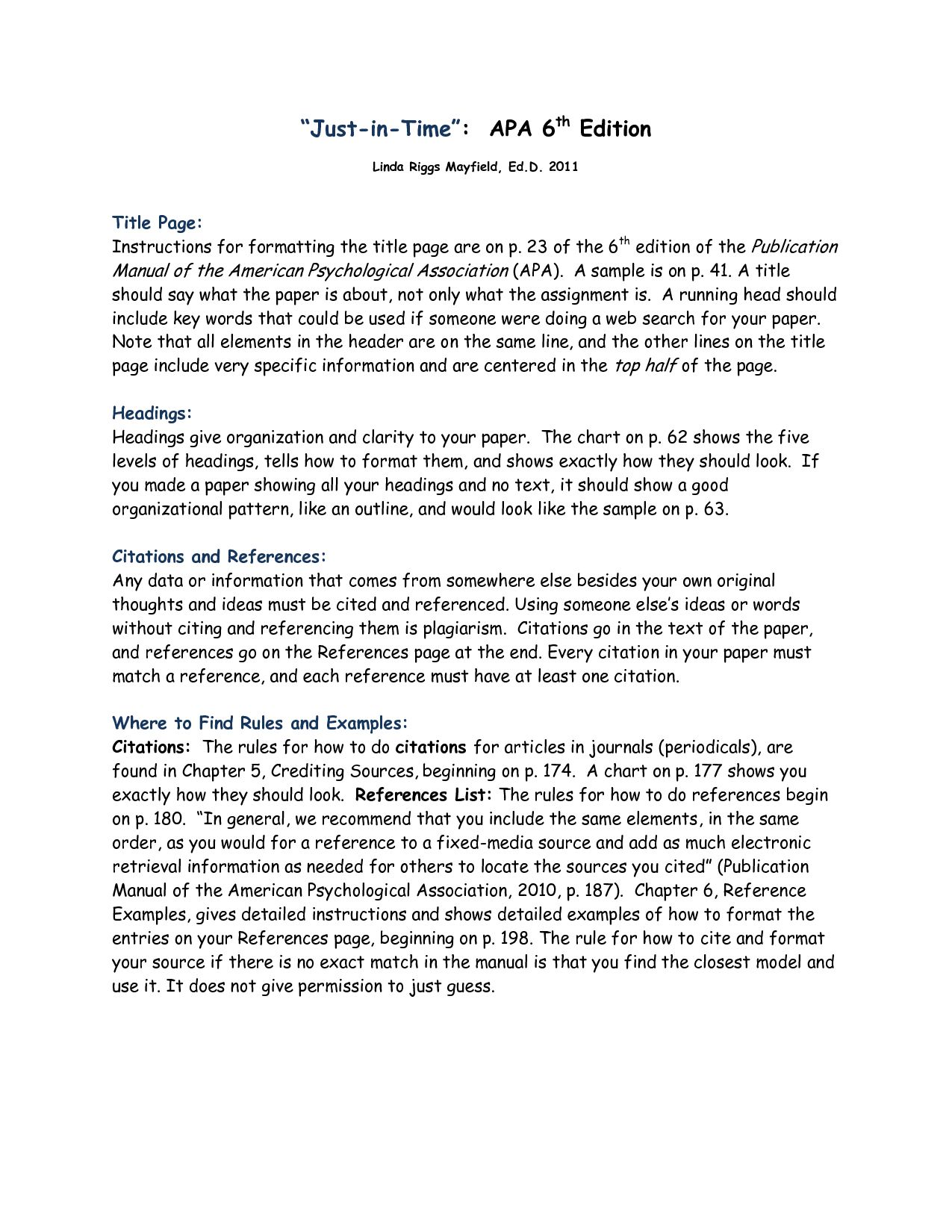 Apa 6th Style Magdalene Project With Apa Word Template 6th