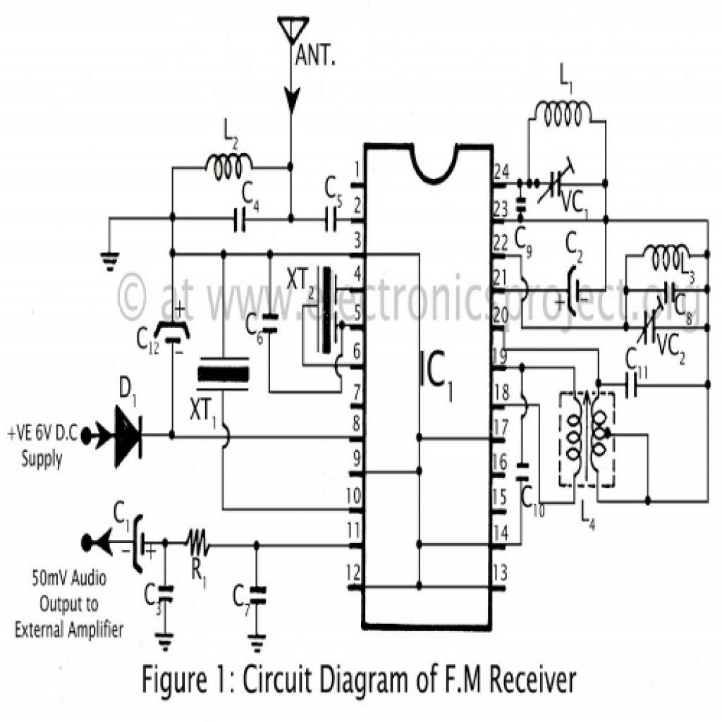Fm Radio Schematic Diagram
