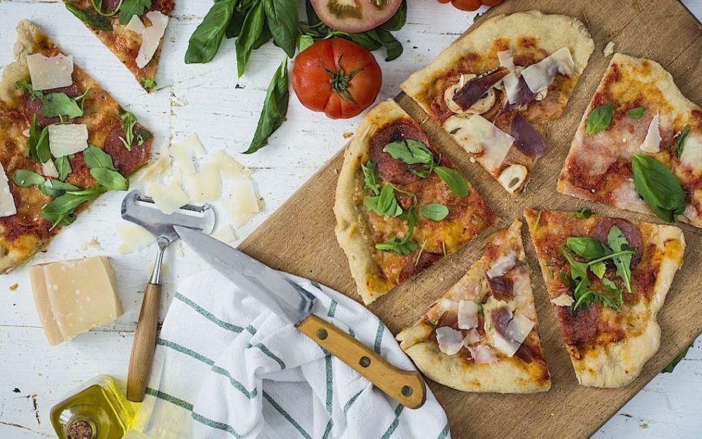 Receta Para Hacer Masa De Pizza Casera Pizza Casera Masa Para Pizza Masa De Pizza Casera