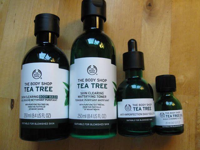 Transforming My Oily Acne Prone Skin Review The Body Shop Tea Tree Oil For Acne Prone Tea Tree Oil Skin Tea Tree Oil For Acne Body Shop Tea Tree